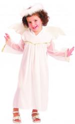Disfraz de ángel blanco niña