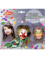 Paleta maquillaje 6 colores niña