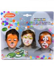 Paleta de maquillaje 6 colores animales
