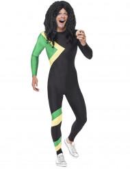 Disfraz jamaiquino adulto