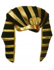 Cofia rey egipcio adulto