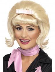 Peluca rubia años 50 mujer