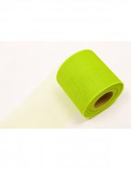 Rollo de tul verde 20 m