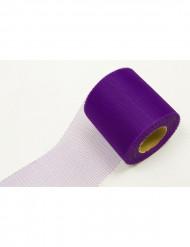 Rollo de tul violeta 20 m