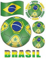 Pegatinas para ventana Brasil