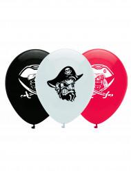 6 Globos pirata