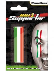 Maquillaje hincha Italia adulto