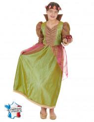 Disfraz de princesa del bosque verde niña