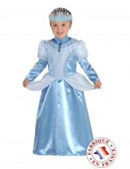 Disfraz de marquesa azul niña