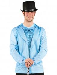 Camisera traje azul adulto