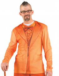 Camiseta traje naranja adulto