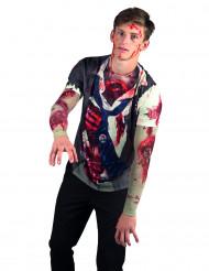Camiseta zombie adulto