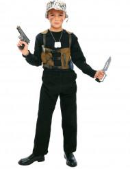 Disfraz de militar niño