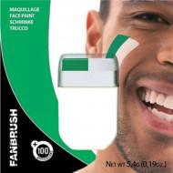 Maquillaje verde y blanco
