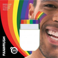 Maquillaje arco iris