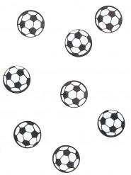 150 confetis de mesa balón de fútbol