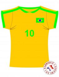 Recorte de la camiseta de Brasil