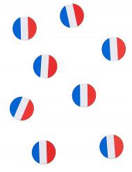 150 confetis de tabla bandera de Francia