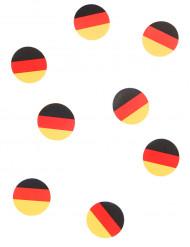 150 confetis de mesa bandera Alemania