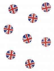 150 Confetis de mesa bandera Gran Bretaña