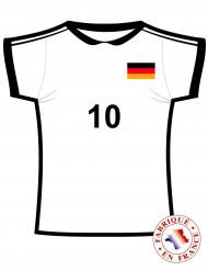 Recorte de la camiseta Alemana