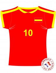Recorte de la camiseta de España