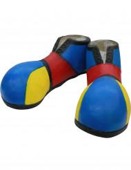 Zapatos de payaso azules