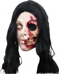 Máscara mujer cara desgarrada