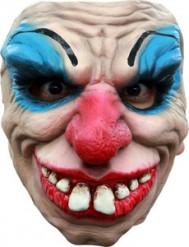 semi máscara payaso terrorífico adulto