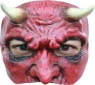 Semi máscara diablo hombre