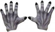 Manos de monstruo grises