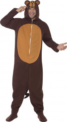Disfraz de mono adulto