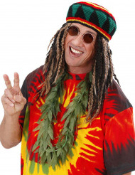 Collar hojas de cannabis adulto