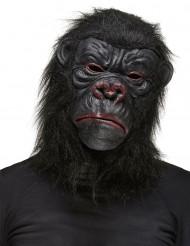 Máscara gorila negro adulto