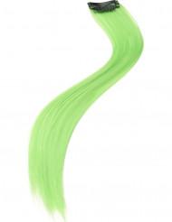 Lote 2 mechas pelo verde fluo