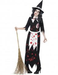 Disfraz zombi bruja mujer Halloween