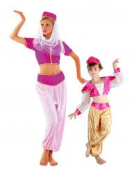 Disfraz de pareja bailarinas de oriente madre e hija