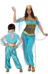 Disfraz de pareja bailarinas orientales madre e hija