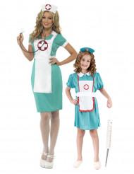 Disfraz de pareja enfermeras madre e hija