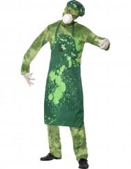 Disfraz de zombi de planta nuclear hombre Halloween
