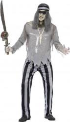 Disfraz de fantasma pirata hombre Halloween