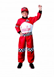 Disfraz de piloto de carreras niño