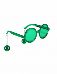 Gafas disco adulto verdes