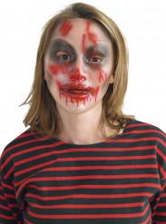 Máscara transparente Halloween mujer