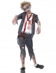 Disfraz zombi colegial niño Halloween