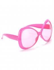 Gafas rosas disco adulto