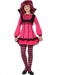 Disfraz vampiresa rosa niña Halloween