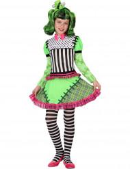Disfraz monstruo verde niña Halloween