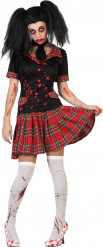 Disfraz colegiala sangrienta mujer Halloween