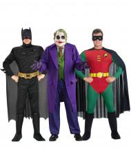 Disfraz de grupo Batman™ Robin™ et Joker™